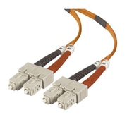 Belkin™ 33' OM2 Duplex Fiber Optic Patch Cable, Orange