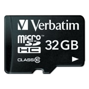 Verbatim Micro Memory 32 GB microSD High Capacity Class 10  Usb Drive Flash Memory Card
