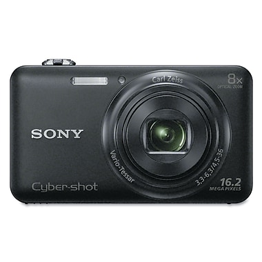 Sony Cyber Shot Digital Camera DSCWX80/B Black
