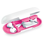 Dotz™ Hardshell Earbud Case, Pink