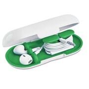 Dotz™ Hardshell Earbud Case, Emerald
