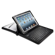 Kensington Zipper Folio Case Bluetooth Keyboard for iPad 4 Black