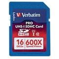 Verbatim Ultra High Speed 16GB SDHC Flash Memory Card