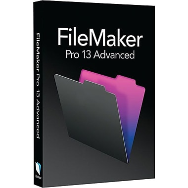 FileMaker Pro v.13 Advanced Complete Package Software