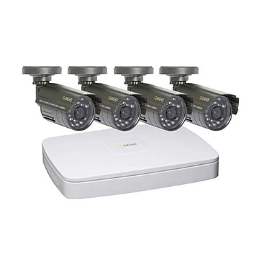Q-See™ Lite 4 Channel 2CIF Digital Video Recorder With 480TVL CMOS Camera