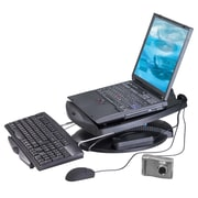 Aidata® NS003FU-2 Notebook Cool Stand With Cooling Fan/Hub/Adapter, 19(H) x 5(W) x 14(D)