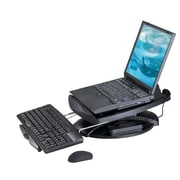Aidata® NS003F Notebook Swivel Stand With Cooling Fan, 19(H) x 5(W) x 14(D)