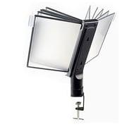 Aidata® Flip & Find Desk Clamp Organizer With 10 Display Panels, Black