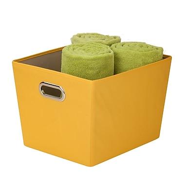 Honey Can Do® Medium Decorative Storage Bins with Handles