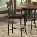 Bernards Rock Wood / Stone Barstool (Set of 4)