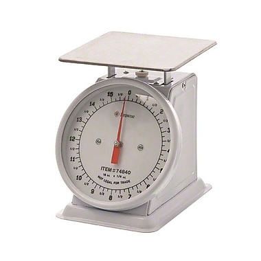 Browne 74840 Metal Fixed Dial Portion Control Scale