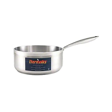 """Browne 57 24036, 9″"" Induction Ready Stainless Steel Sauce Pan"""