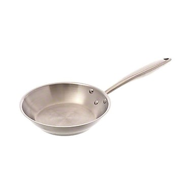 """Browne 57 24048, 7-3/4″"" All Stainless Fry Pan"""