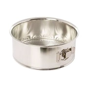"Browne 74 6063, 9-1/2"" Polished Tin Spring Form Cake Pan"
