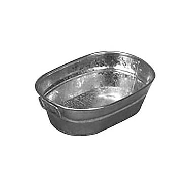 American Metalcraft MTUB69, 9'' x 6'' Natural Galvanized Tub