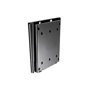 Atdec – Support mural VESA fixe Telehook ultra mince pour téléviseur, 4 po x 4 po capacité de 66 lb (TH-1026-VF)