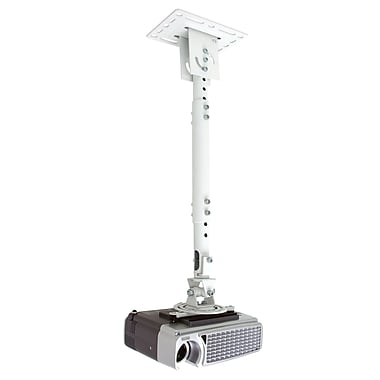 Atdec Telehook Universal Projector Ceiling Adjustable Pole Mount, 33 lbs. capacity (TH-WH-PJ-CM)