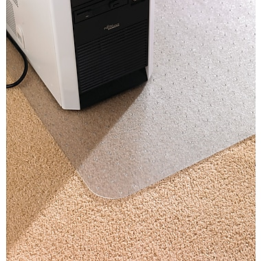Floortex Anti-Static Chairmat with lip, 45