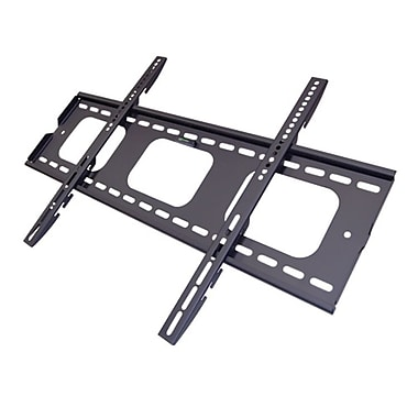 Bestmounts fixed flat panel tv wall mount with three for Best 65 tv wall mount