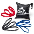 Black Mountain Products 5 Piece Cross Fit Resistance Band Set