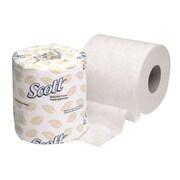 "Scott® 4.1"" x 4"" 2-Ply Standard Roll Bathroom Tissue, White, 550 Sheets"