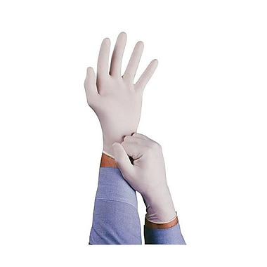 Ansell Conform 100% Natural Rubber Powdered Gloves, White, Large