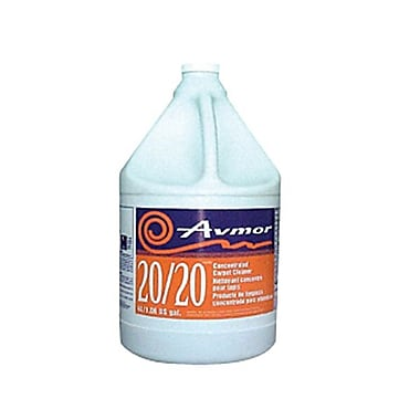 Avmor® 20/20 Concentrated Carpet Cleaner, 4 L, 4/Case