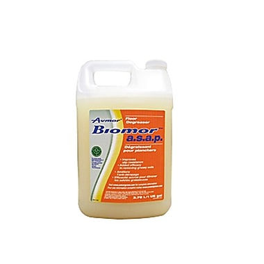 Avmor® BIOMOR ASAP Floor Degreaser, 3.78 L, 4/Pack