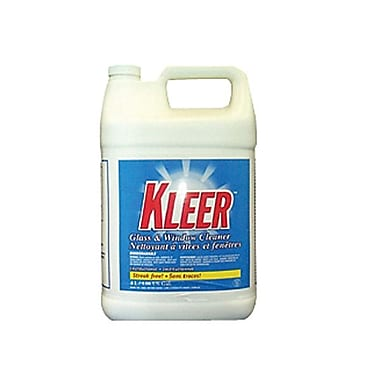 Avmor® KLEER Glass Cleaner With Ammonia, 4 L