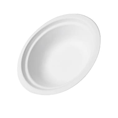 CKF Royal Chinet Plain Bowl, 12 oz., White