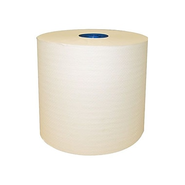 Cascades® 77' 1-Ply Roll Towel, Ivory