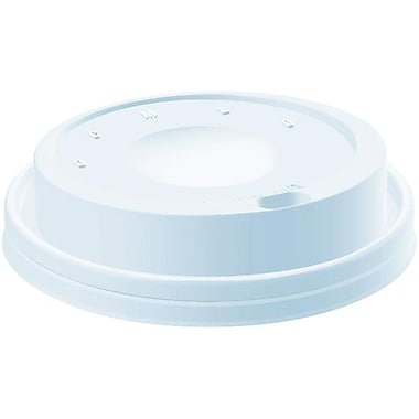 Dart® Dome Drink Thru Cappuccino Lid For 12 oz., White