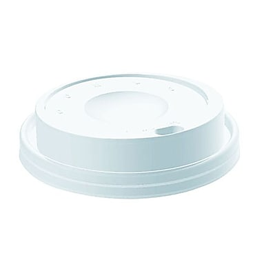 Dart® Dome Drink Thru Cappuccino Lid For 8 oz., White