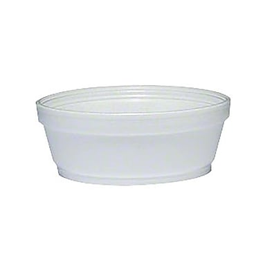 Dart® Foam Super Squat Soup Container