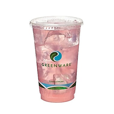 Fabri-Kal Greenware® Biopolymer Eco-Friendly 7 oz., Drink Cup