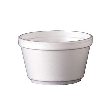Dixie® Foam Container, 8 oz.
