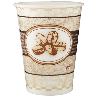 Dixie® PerfecTouch® Insulated Bean Paper Hot Cup, 12 oz.
