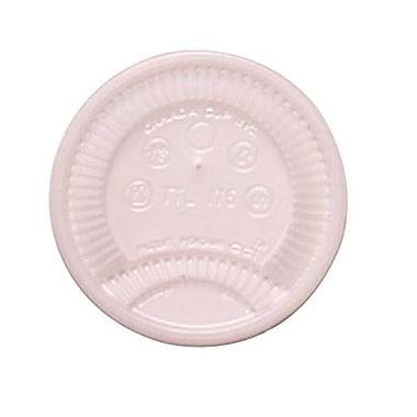 DixieMD – Couvercle à languette détachable pour gobelets de 6 oz, translucide