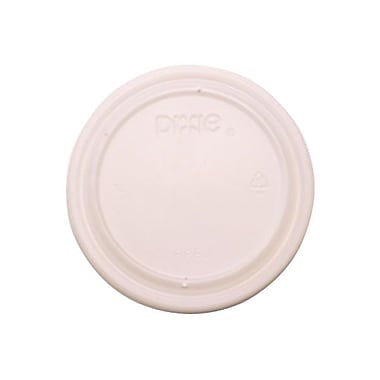Dixie® Plastic Vented Lid For 12 - 35 oz. Cups, Translucent
