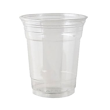 Dixie® PETE Plastic Cup, 14 oz., Clear