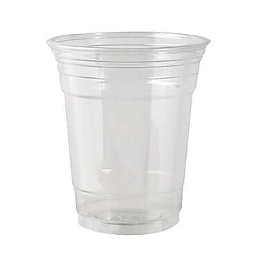 DixieMD – Gobelet en plastique PETE, 14 oz, transparent