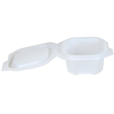 Dixie® Liddles Portion Cups With Attached Lids, 4 oz.