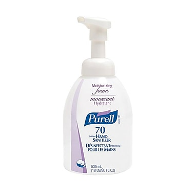 GOJO® Purell® Instant Moisturizing Foam Counter Top Bottle Hand Sanitizer, 535 ml
