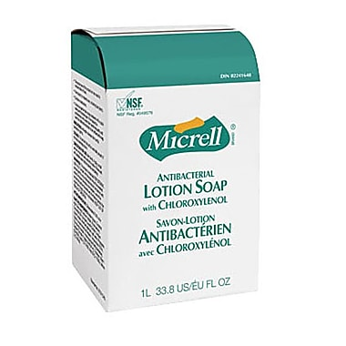 GOJO® Micrell® Antibacterial Lotion Soap With Chloroxylenol, 1L