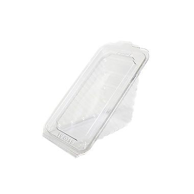 Pactiv True Fresh Polyethylene Hinged Sandwich Container