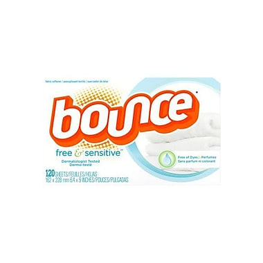Bounce Unscented Dryer Fabric Sheet