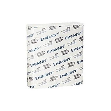 EmbassyMD – Essuie-mains Premium à plis multiples 1 épaisseur, 9 x 9,5 po, blancs, paq./12