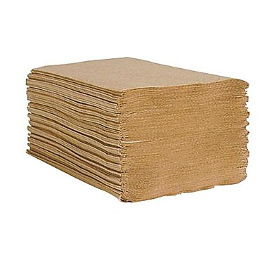 Esteem® Economy Singlefold Towel, Brown