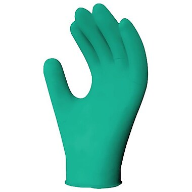 Ronco Nitrile Powder-Free Examination Gloves, Green, Large