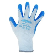 Ronco Grip-It Latex Coated Gloves, Grey/Blue, Small